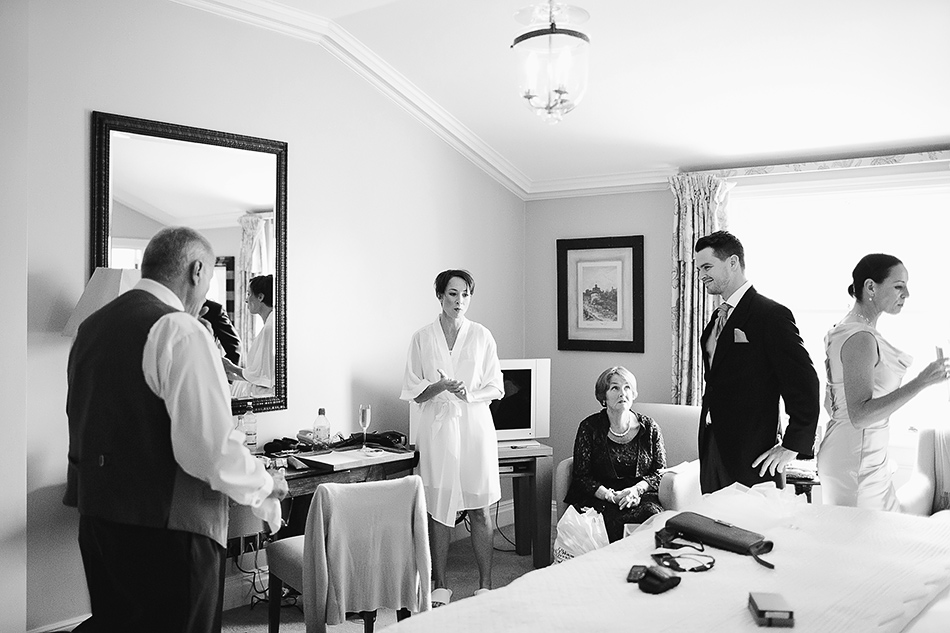 wedding photography getting ready with bride
