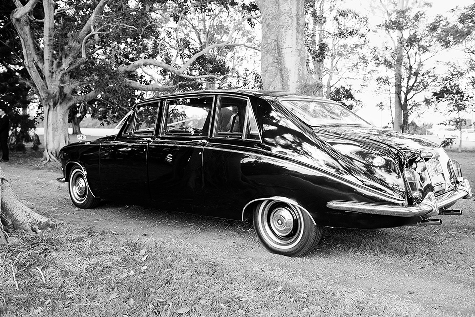black and white photography bridal car photos
