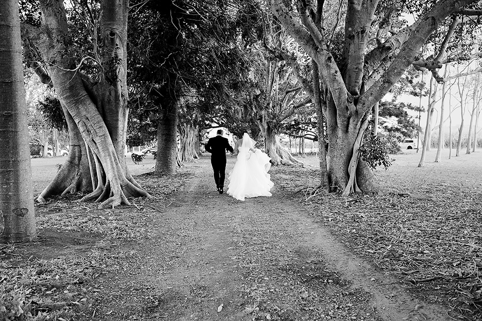 cool wedding photographerr yandina station brisbane wedding