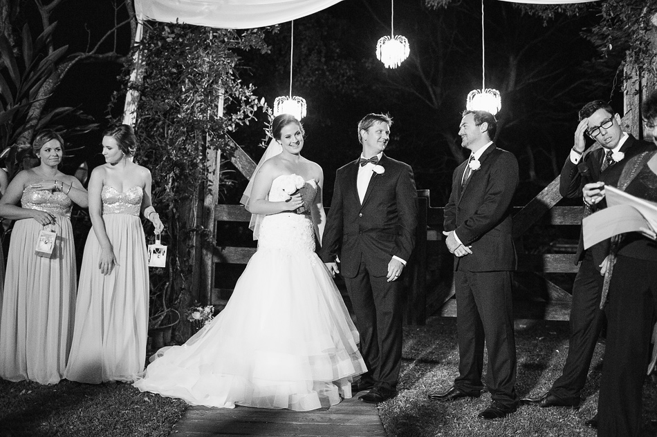 black and white wedding photography brisbane branyan retreat