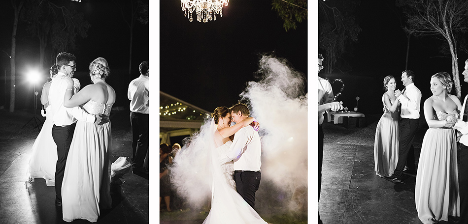 cool wedding photographer outdoor wedding first dance photos yandina station