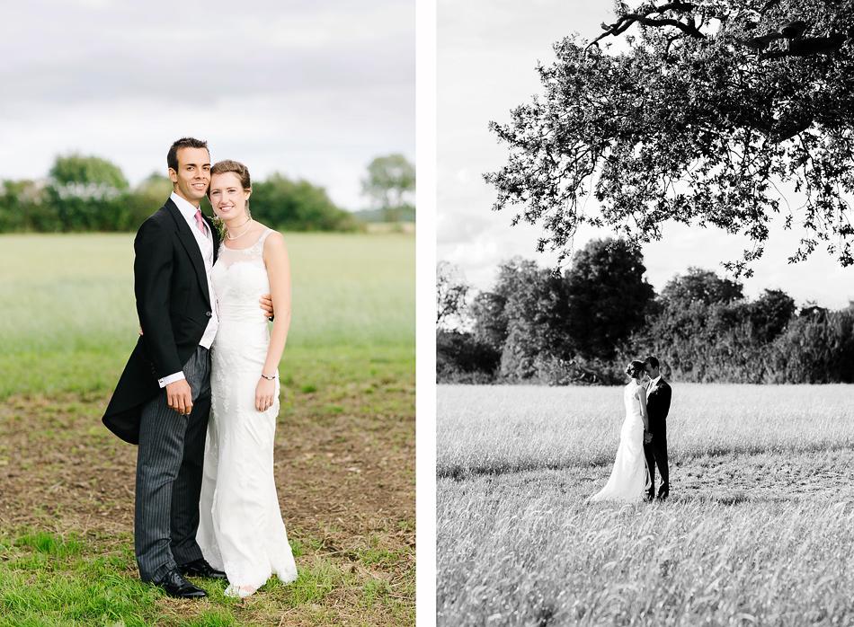 bride and groom wedding portriats at a farm wedding in the sunshine coast