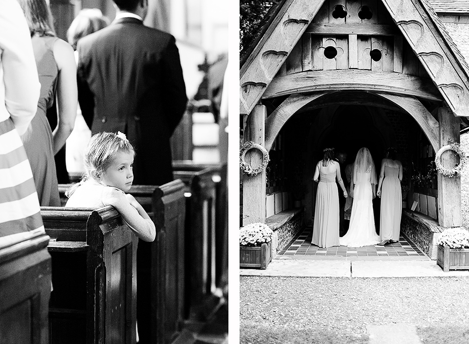 wedding day photography black and white