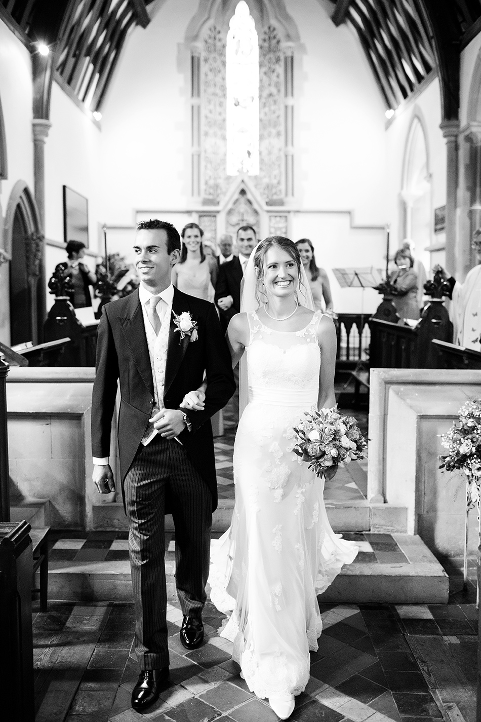 brisbane wedding photographer leaving church