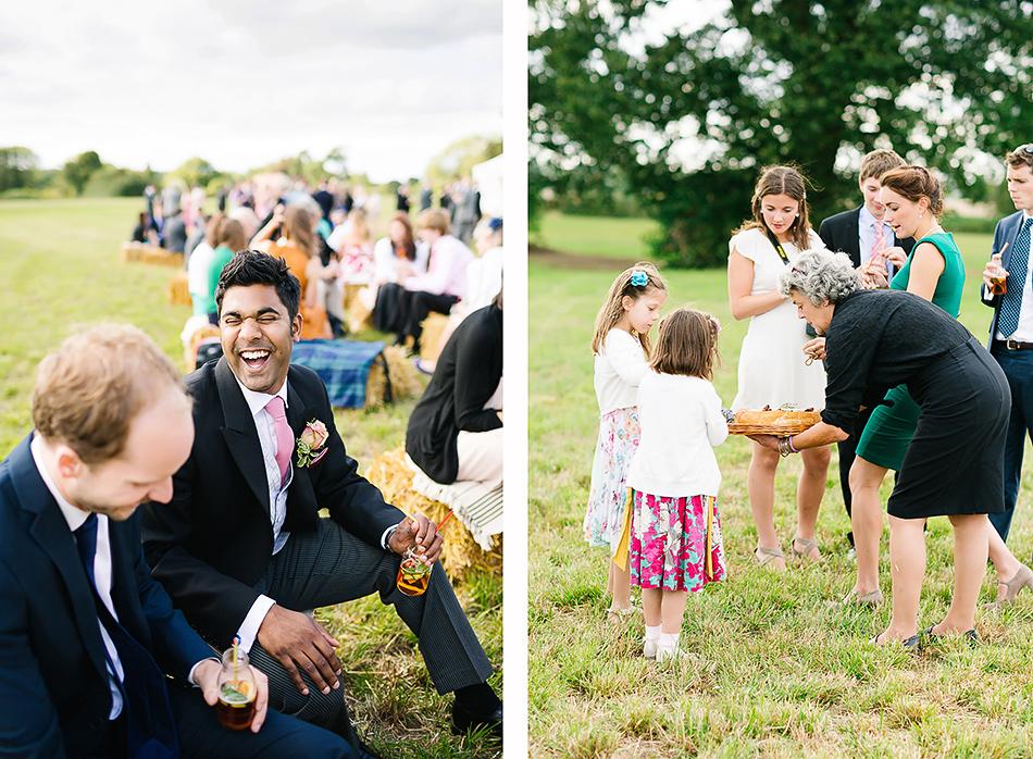 byron bay wedding hay bails outdoor wedding photography