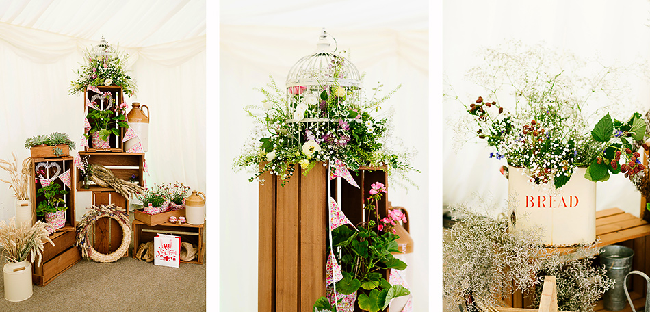 tent or marquee wedding decorations