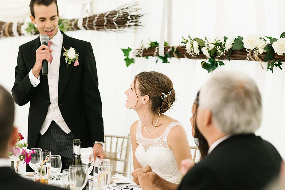 grooms wedding speach