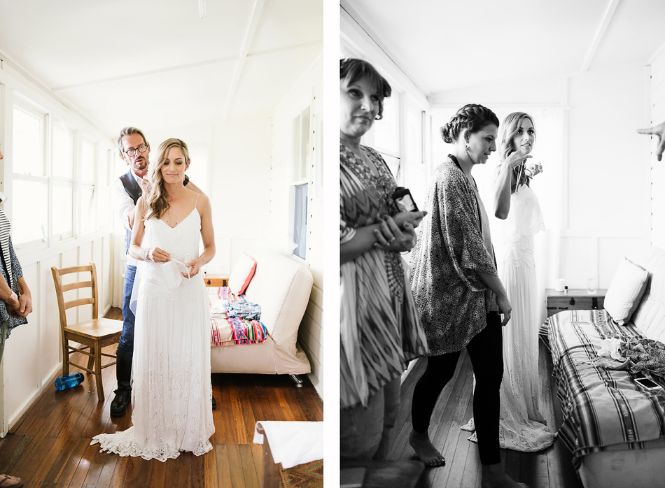 getting ready photos on wedding day