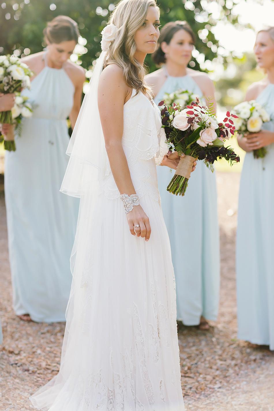 cool wedding photographer natural light photographer brisbane wedding photographer byron bay wedding at earth house bridal dress