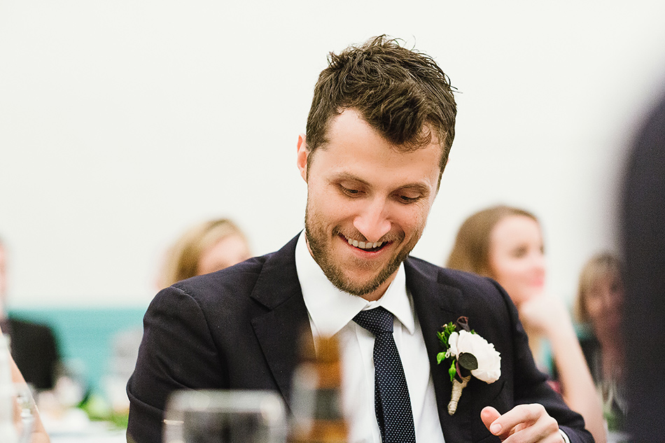 bangalow town hall wedding speeches with groom photographer