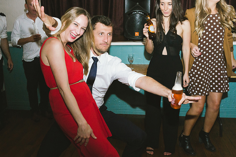 dance floor party photos at bangalow town hall
