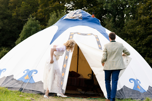 bride and groom luxury tent hire for wedding