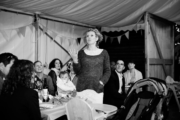 festival wedding speeches and evening photography