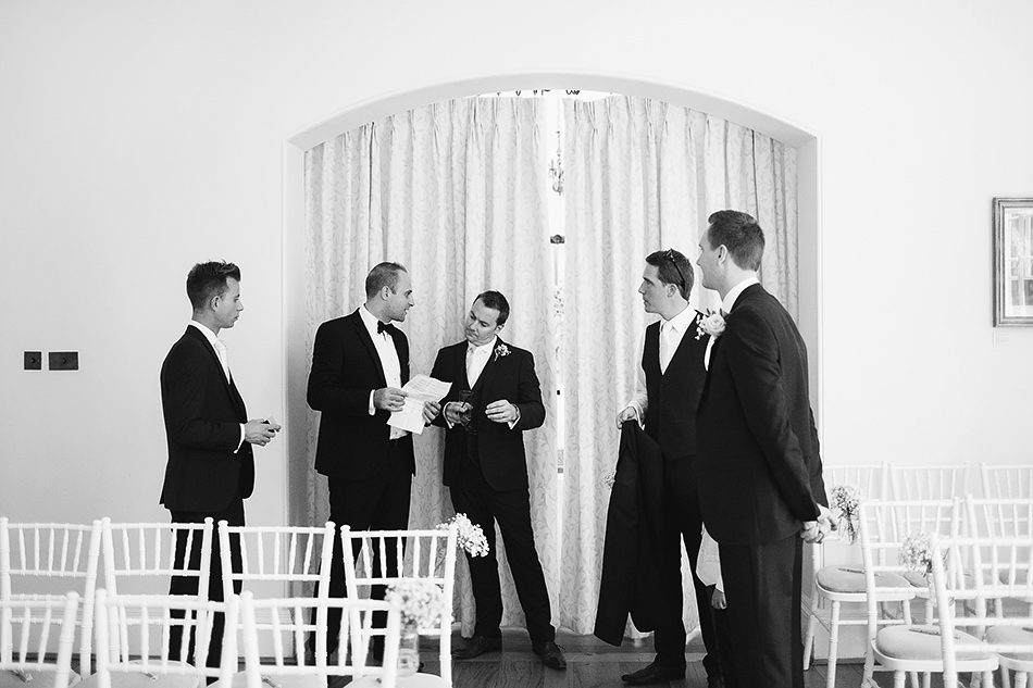 best man and groom brisbane wedding photographer