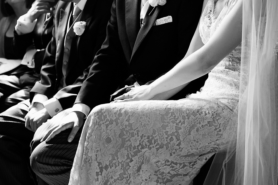 bride and groom close up wedding photo