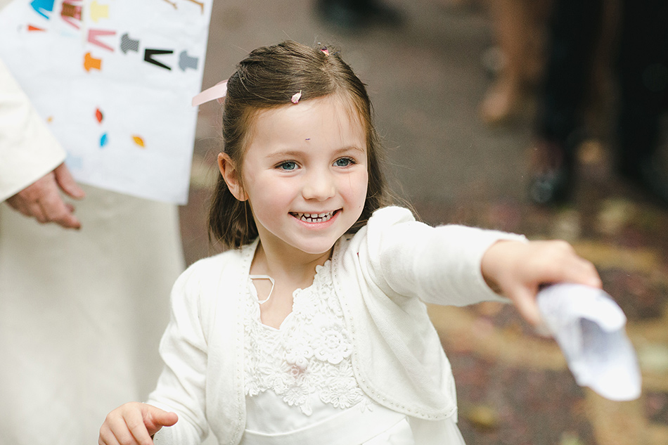 flower girl wedding photography confetti photo at a wedding