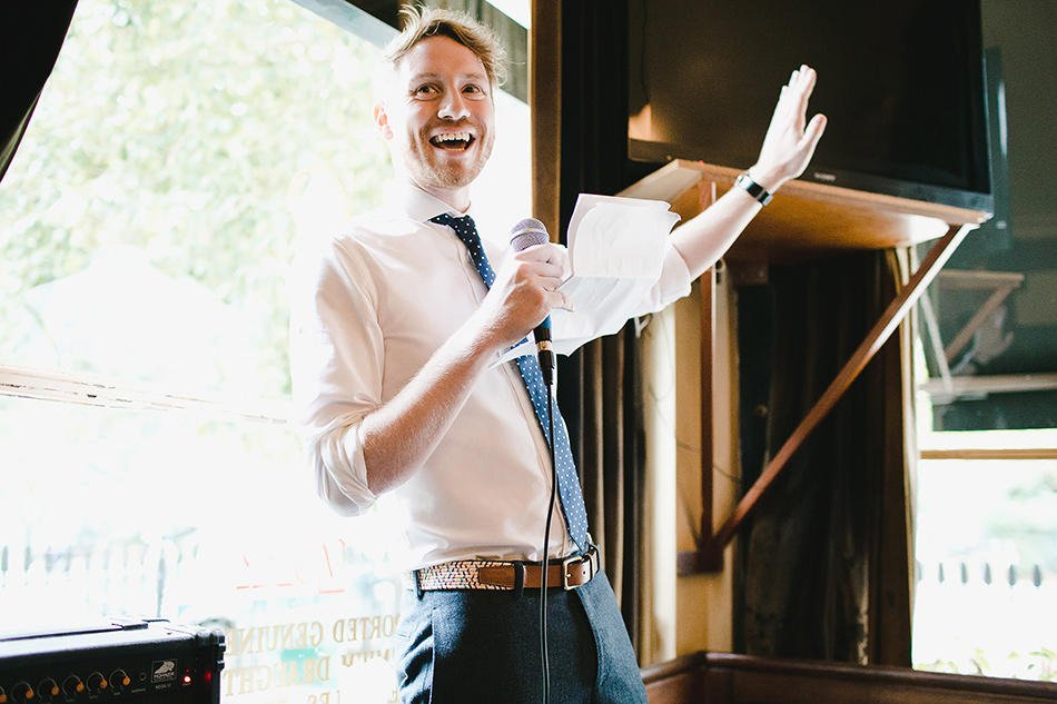 creative and cool wedding photographer grooms speech