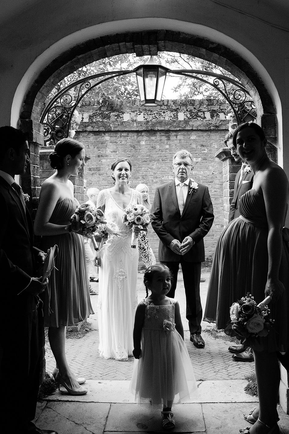 black and white wedding photographer documentary wedding