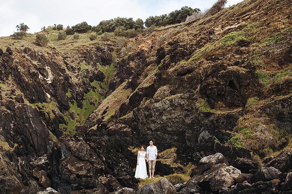 brisbane wedding photography outdoor garden or beach wedding photographer creative wedding at byron bay