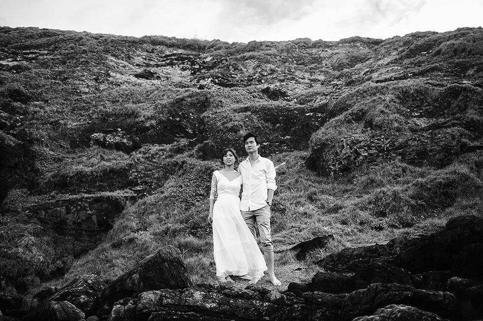 brisbane wedding photographer vintage outdoor wedding at byron bay beach