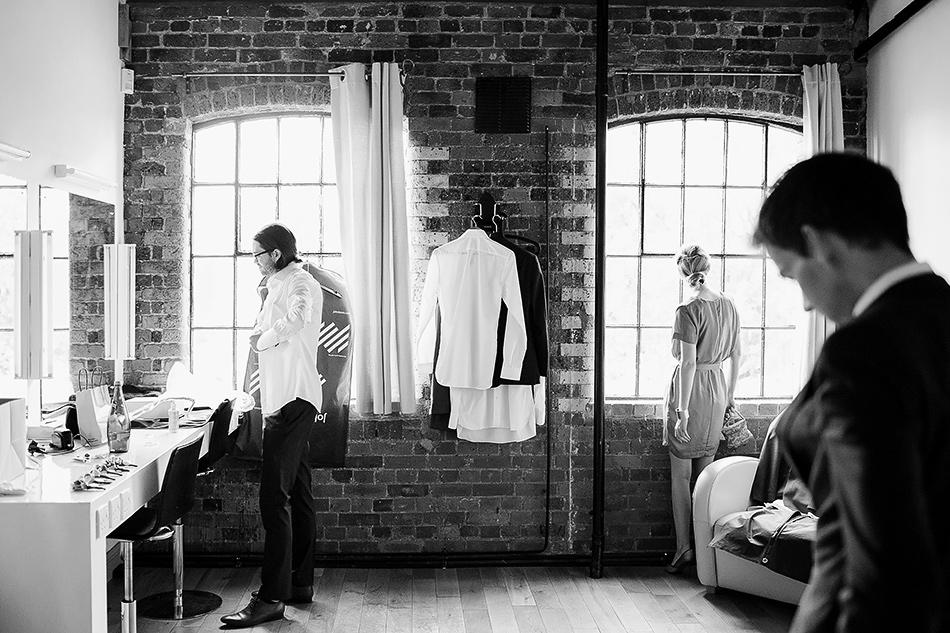brisbane powerhouse wedding photography black and white photo of groom