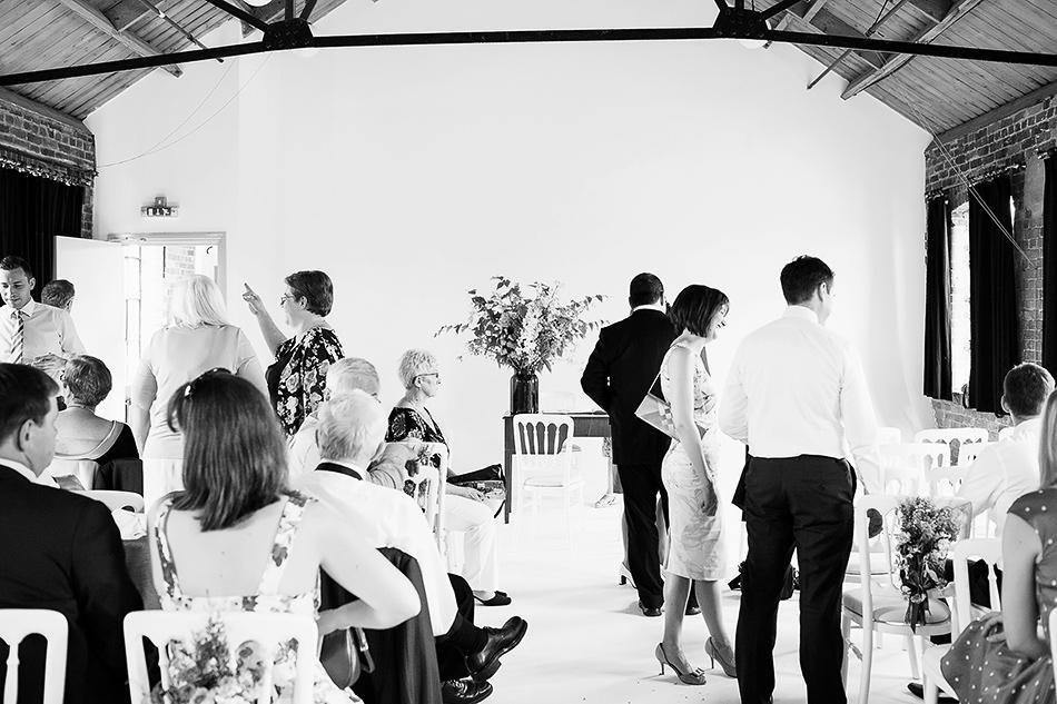 photography studio wedding in a loft