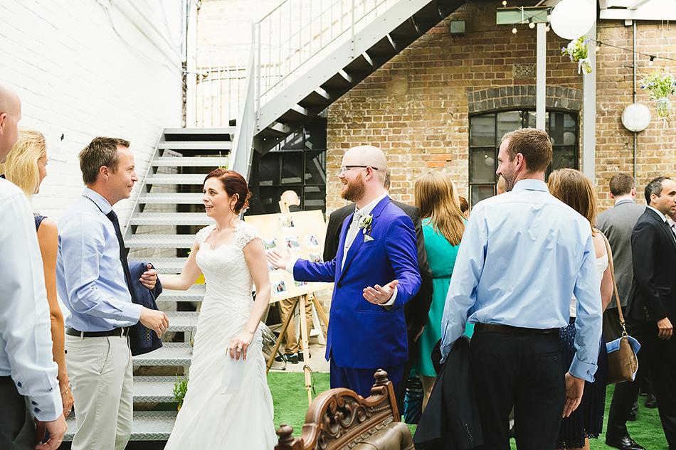 wedding reception brisbane powerhouse