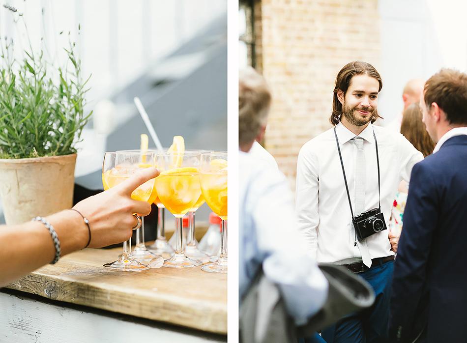 wedding reception drinks at studio thirteen