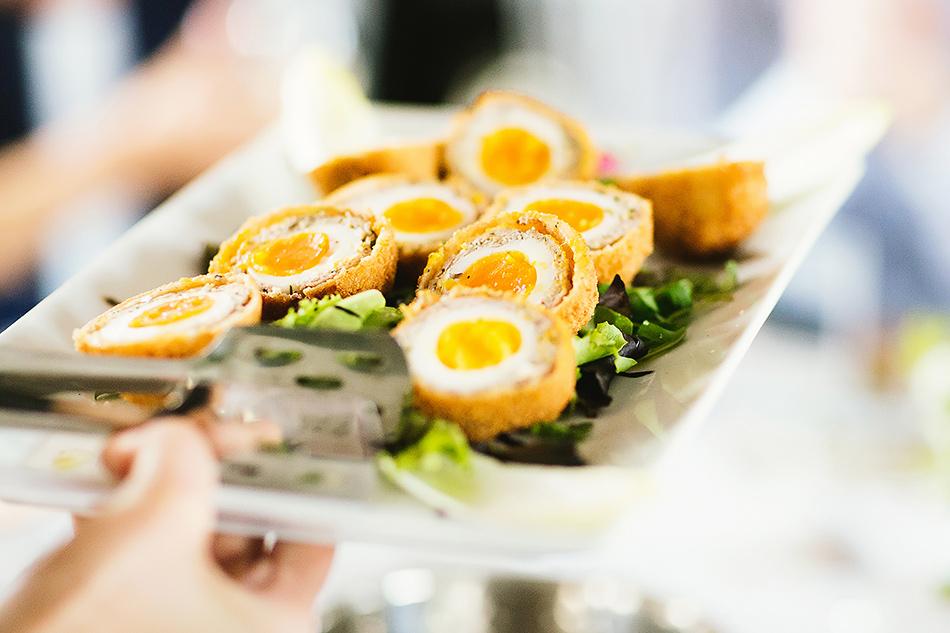 wedding day food ideas for casual wedding