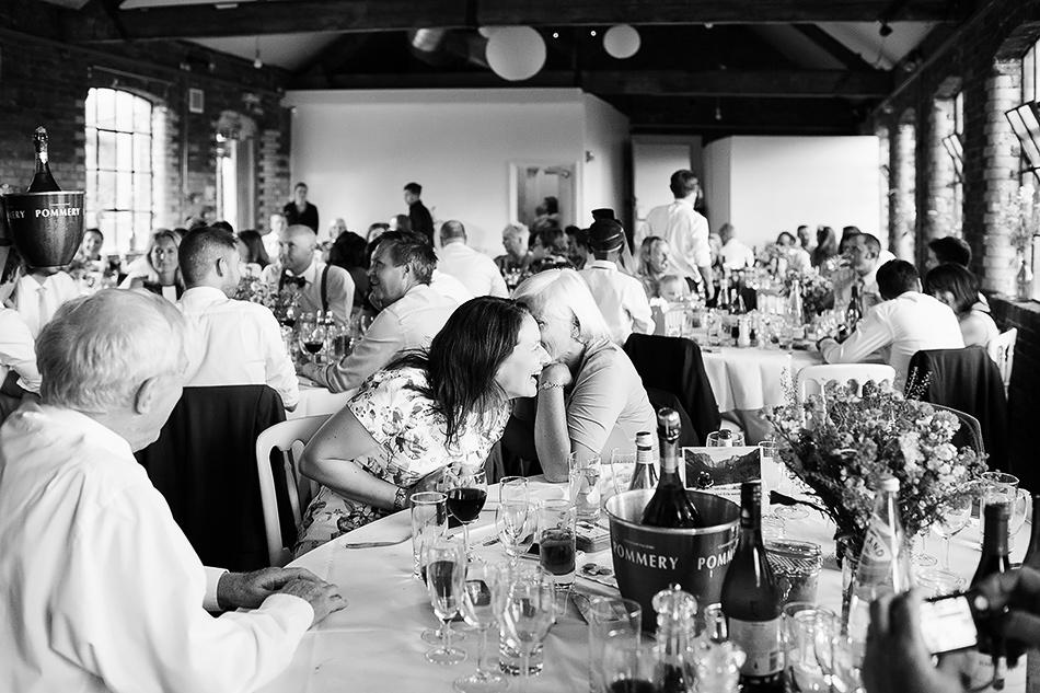 black and white wedding photographer powerhouse wedding