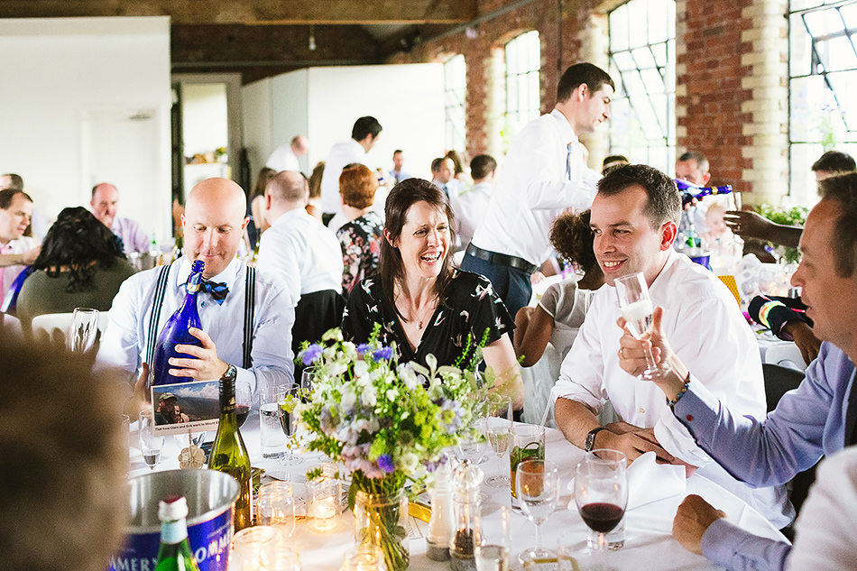 guests at brisbane powerhouse wedding