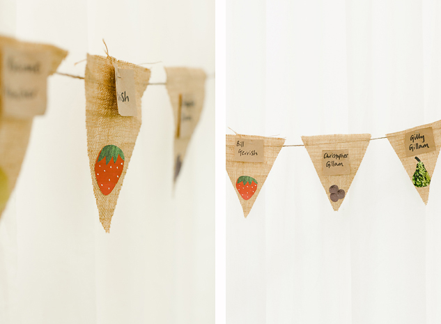 creative wedding photo diy wedding bunting