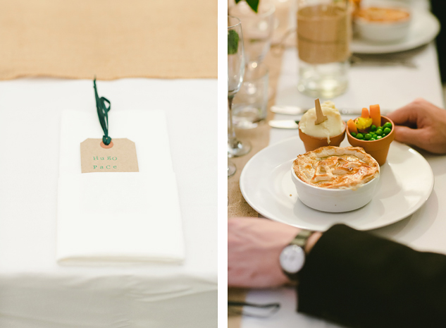 cool wedding photography festival wedding pie dinner and place holder