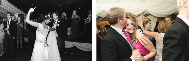 wedding dance floor photography in tipi
