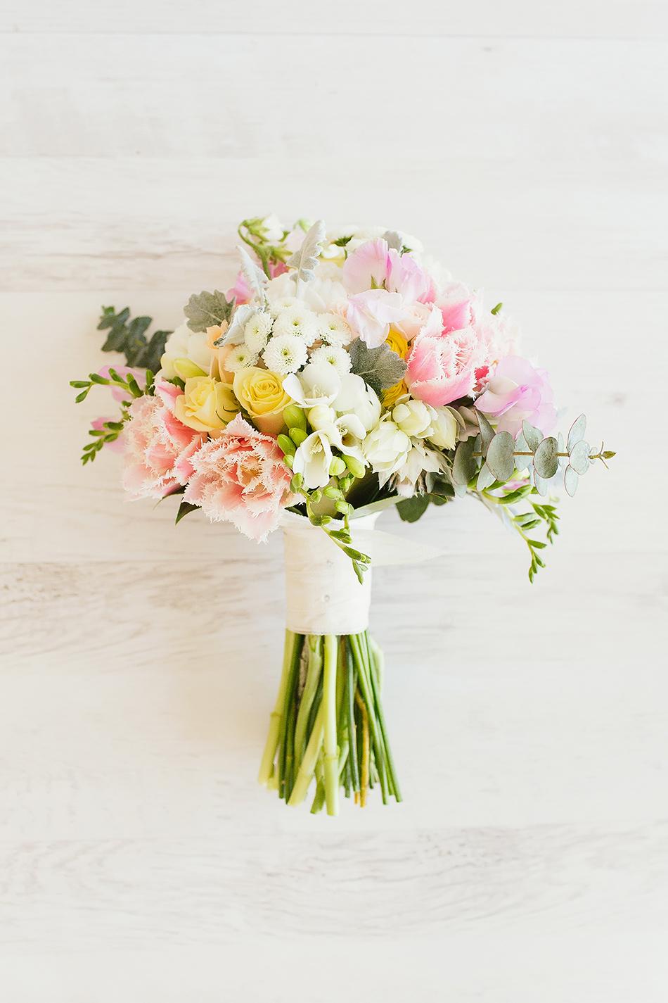the elandra wedding flowers mission beach pastel beach wedding