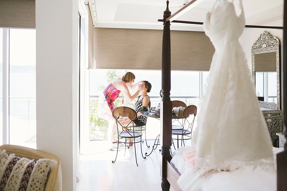 the elandra mission beach wedding inside room photos