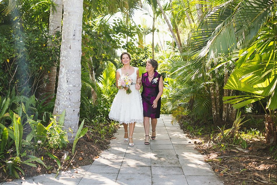 mother and bride at the elandra mission beach