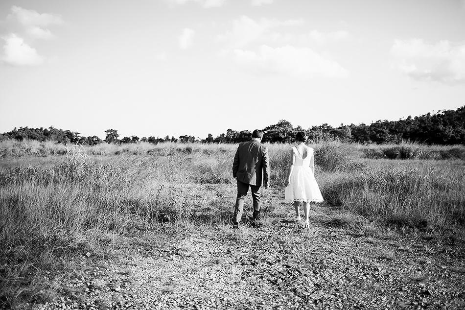 cool wedding photographer brisbane queensland a field wedding photo at the elandra mission beach