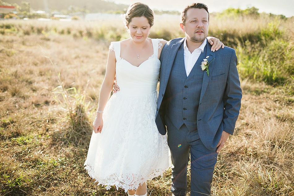 cool wedding photographer field wedding portriats brisbane wedding photographer mission beach the elandra