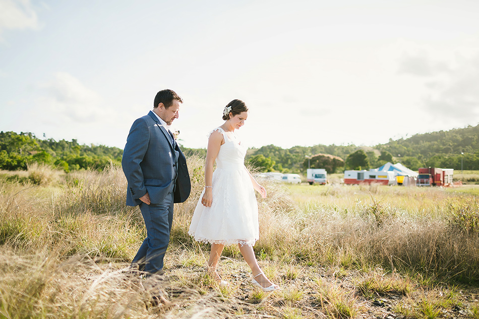 rustic outdoor wedding queensland mission beach