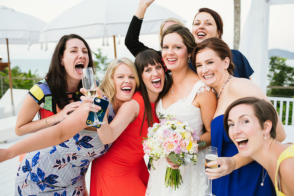 poolside wedding at the elandra