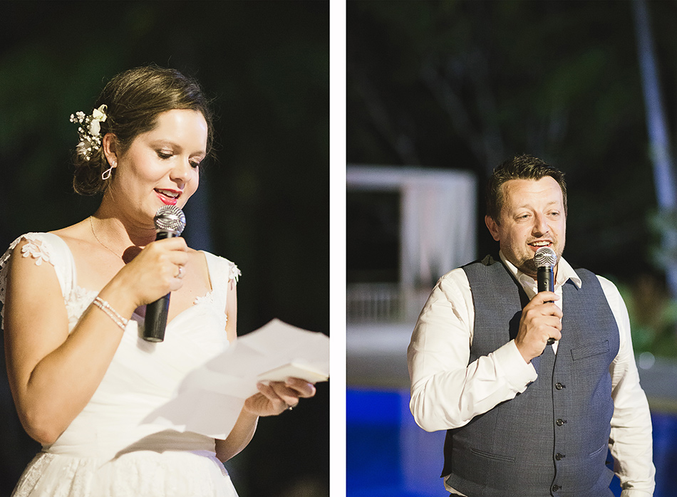 bride and groom photography wedding speeches at the elandra