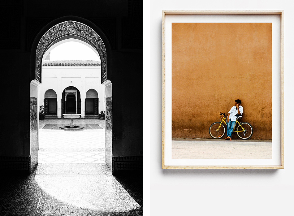 limited edition fine art photographic print for the wall marrakech morocco