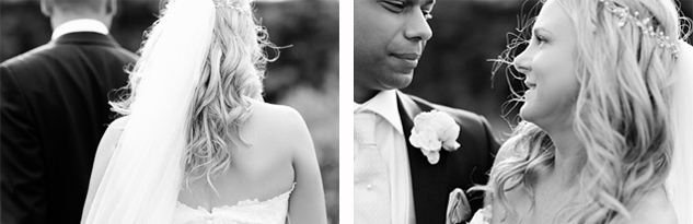 black and white wedding photography by clair estelle brisbane kew gardens
