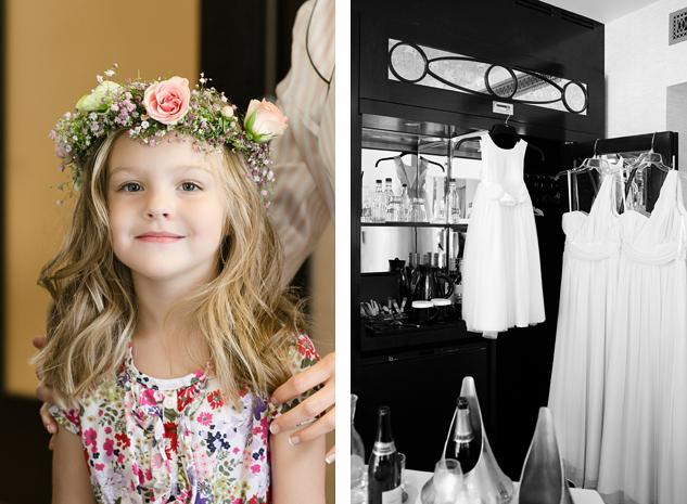 clair estelle reportage creative wedding photography brisbane flower girl head piece