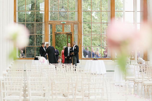 kew gardens nash conservatory garden wedding