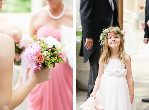 creative wedding photography brisbane london sunshine coast bridal flowers and flower girl dress