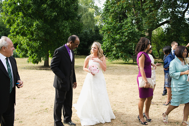 creative wedding photography reportage wedding photography wedding drinks reception in a field