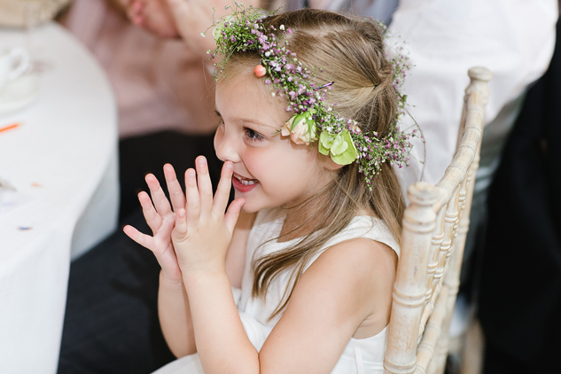 flower girl dress and head piece or head bandit