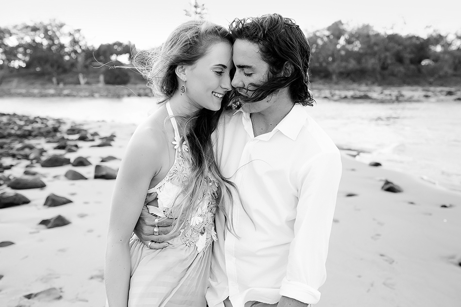 black and white wedding photographer brisbane queensland